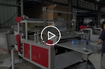 LQ-1000 Computer Double layers Cold cutting Bag making machine