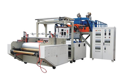 LYM-1000X2/1500x2高速shuang层共挤PE缠绕膜机