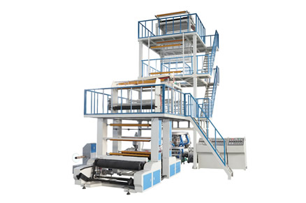 3SJ-G Series Three Layers Co-extrusion PE Film Blowing Machine