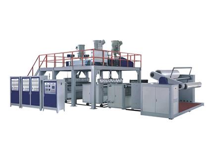 HSQPF-1500/2000/2500 三luo杆七层复合气pao膜机